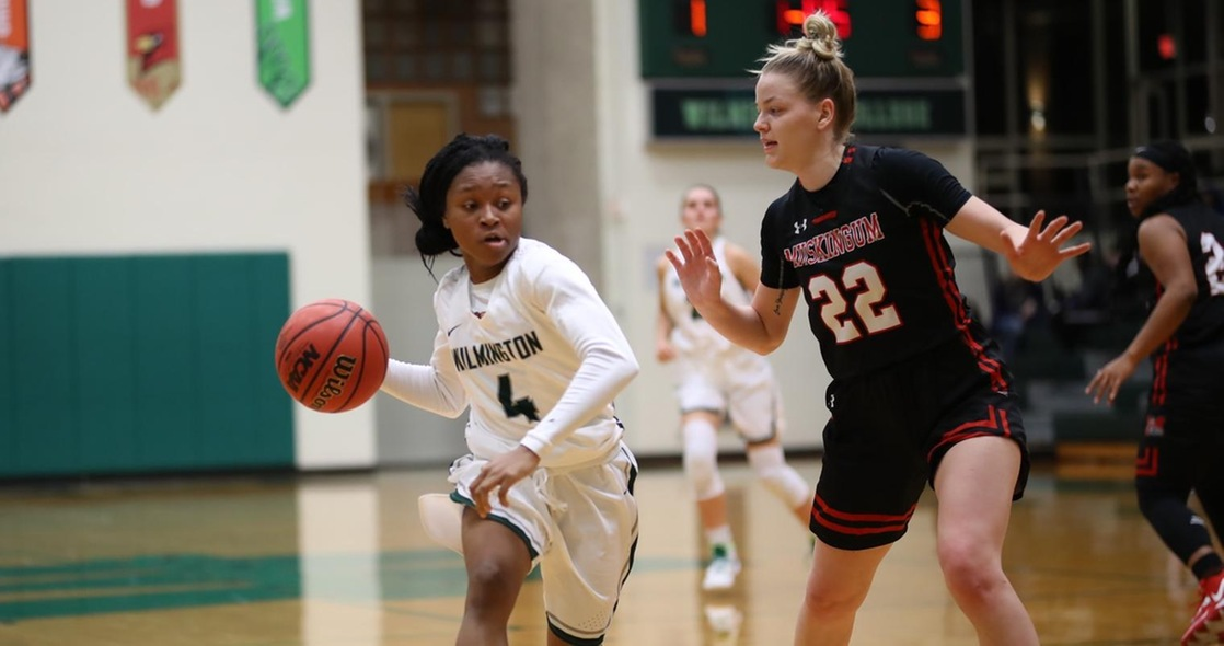 Women's Basketball Hits Century Mark in Convincing Win at Muskingum