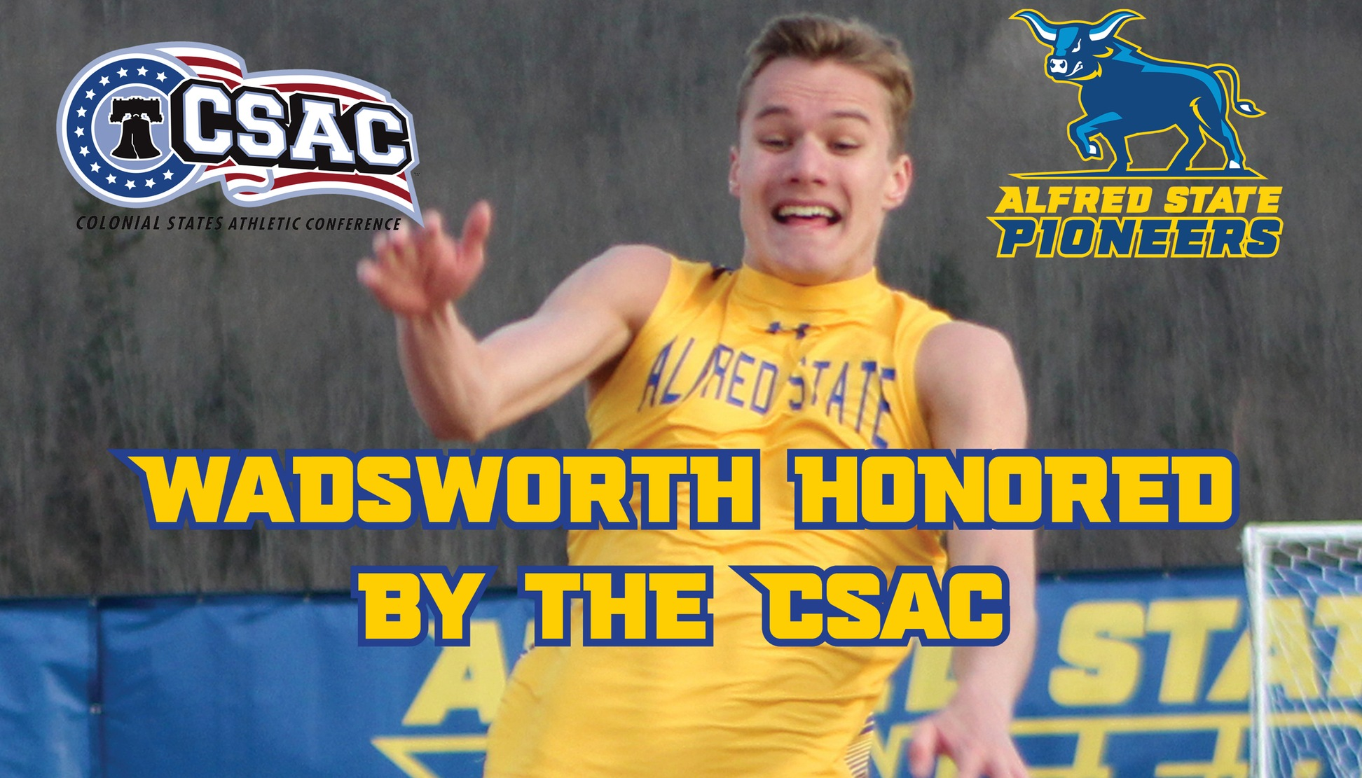 Jacob Wadsworth Named Track Athlete of the Week by the CSAC