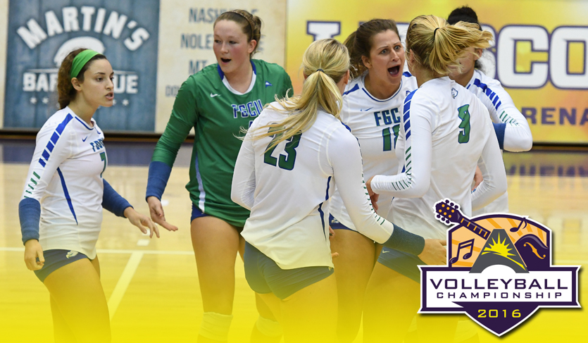 FGCU Advances to Sixth Straight #ASUNVB Championship Semis