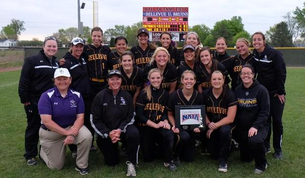 Bellevue won their third straight MCAC Championship, defeating Central Baptist 5-4