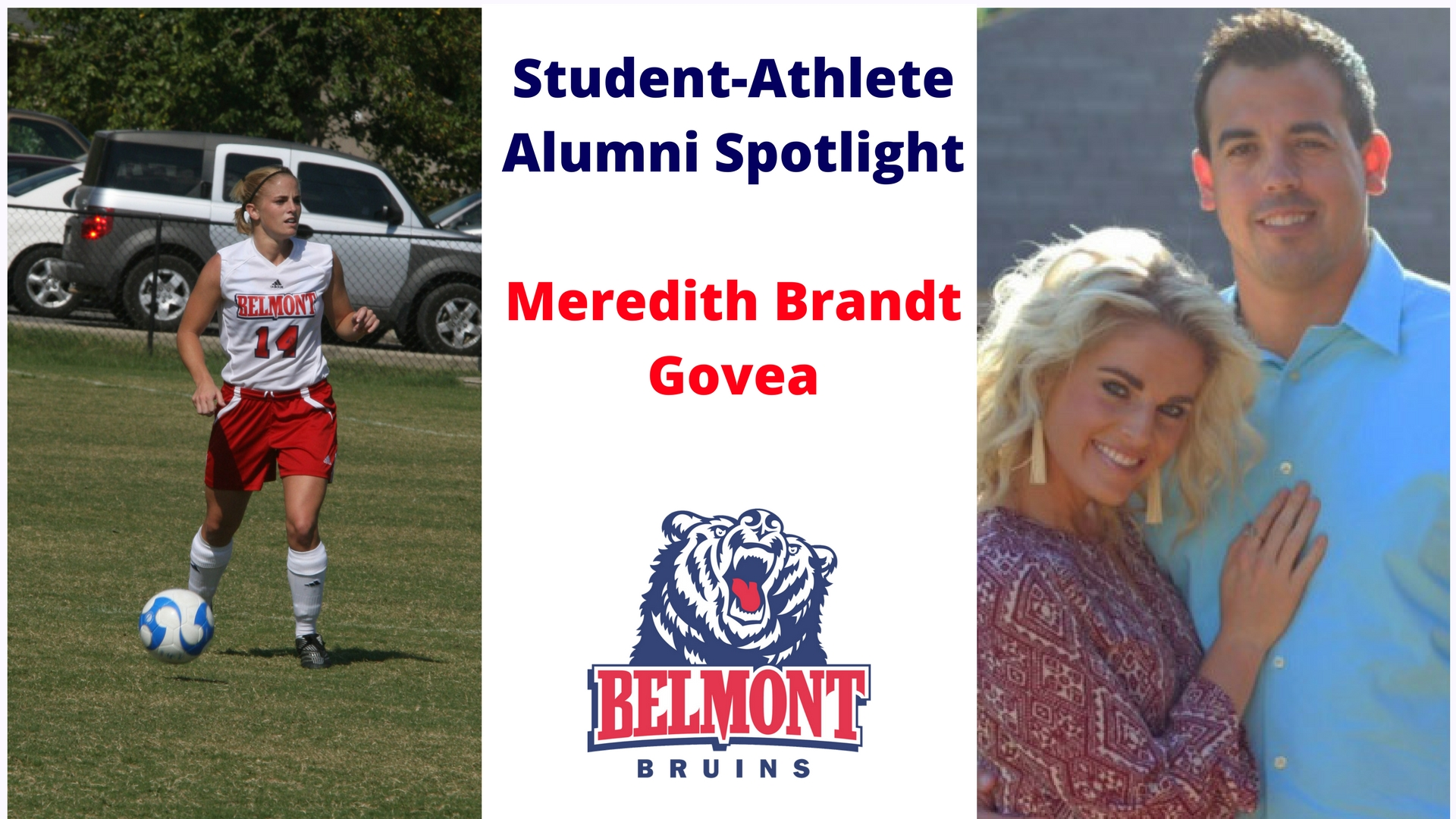Student-Athlete Alumni Spotlight -- Meredith Brandt Govea