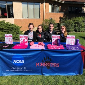 Lake Forest College Athletic Teams Compete Against Cancer