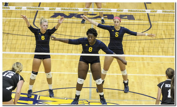 Mount women's volleyball suffers 3-2 HCAC road loss at Bluffton University