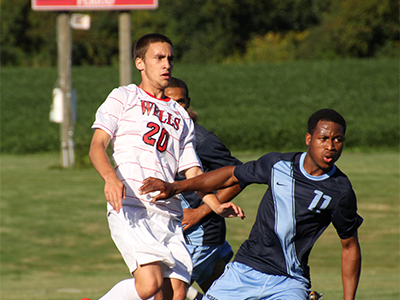 Men's Soccer Extends Unbeaten Streak, Edges Cobleskill 3-1