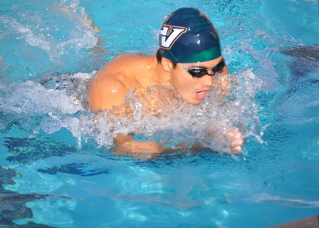 Leopard swimming and diving teams win 11 events