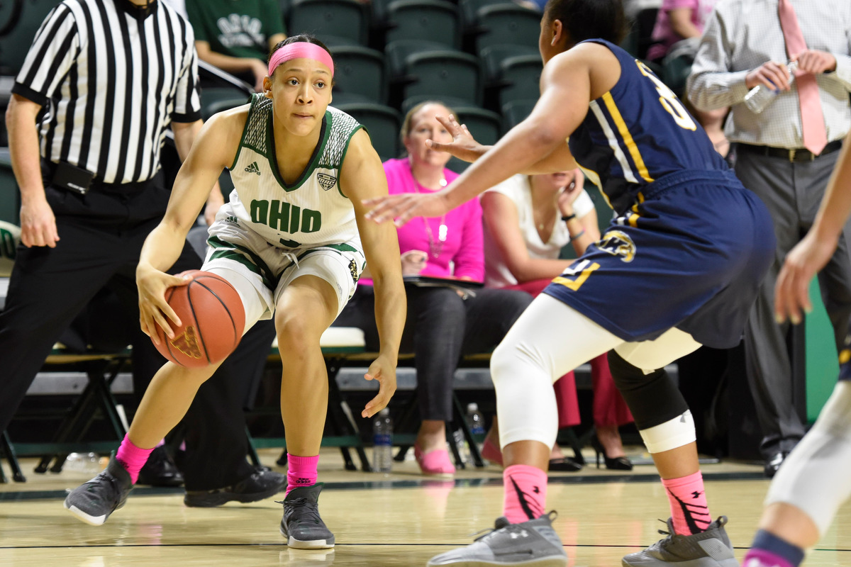 Ohio Women's Basketball Heads North for Battle with Buffalo
