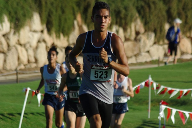 Men's Cross Country competed in Las Vegas