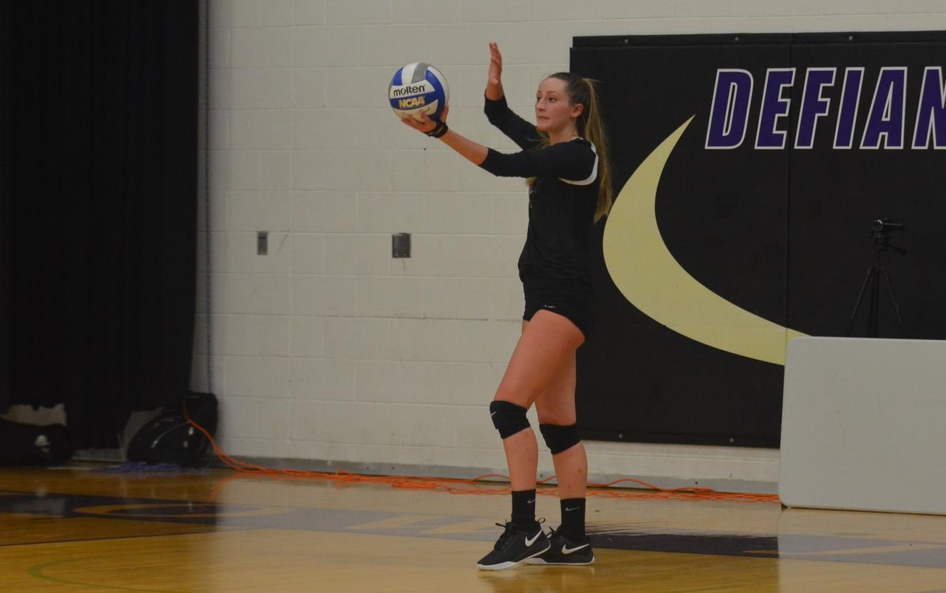 Volleyball Rebounds with Season Opening Split