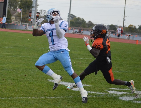 Westminster Football Earns First Road Win Over Greenville