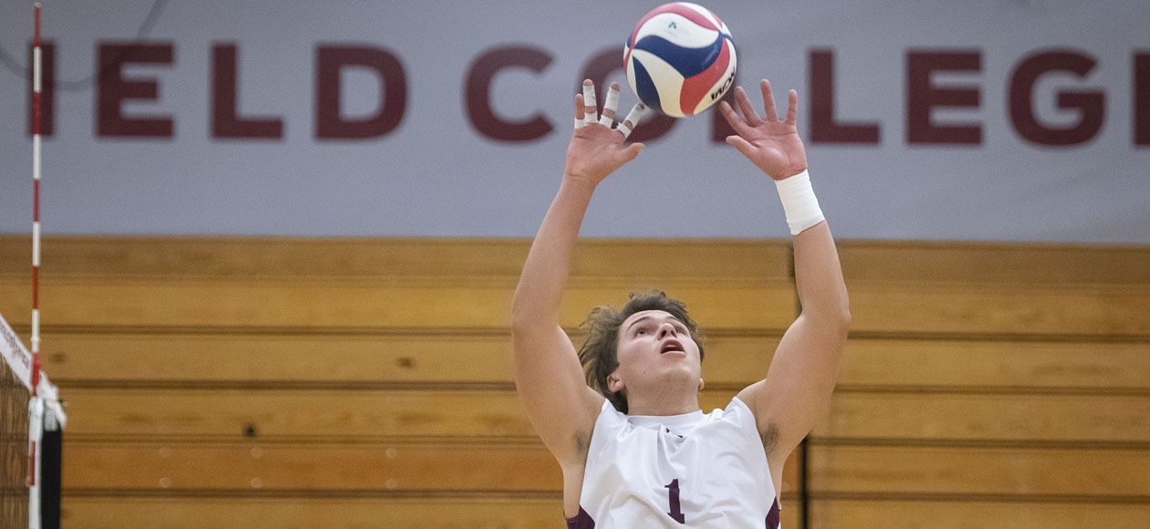 No. 2 Men's Volleyball Escapes With Five-Set Win At NYU