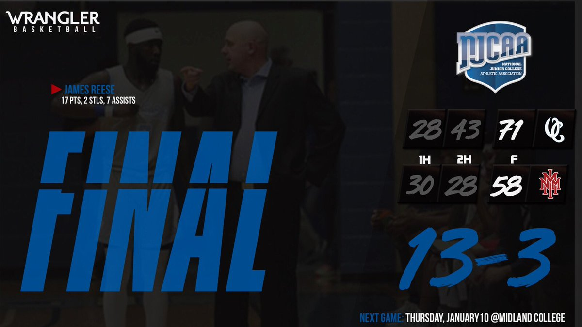 Men's Basketball beats NMMI