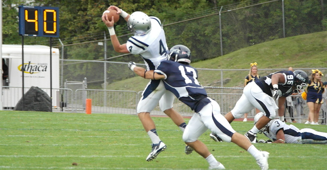 Football Falls To Ithaca In Season Opener Moravian College
