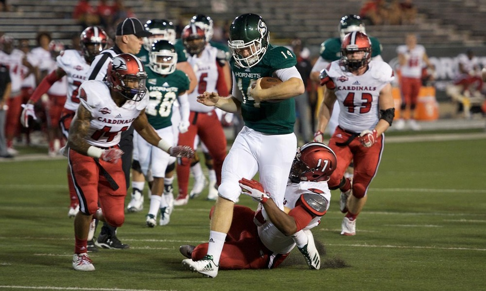 WHITE RALLIES TO BEAT GREEN ON FINAL DRIVE OF SPRING GAME