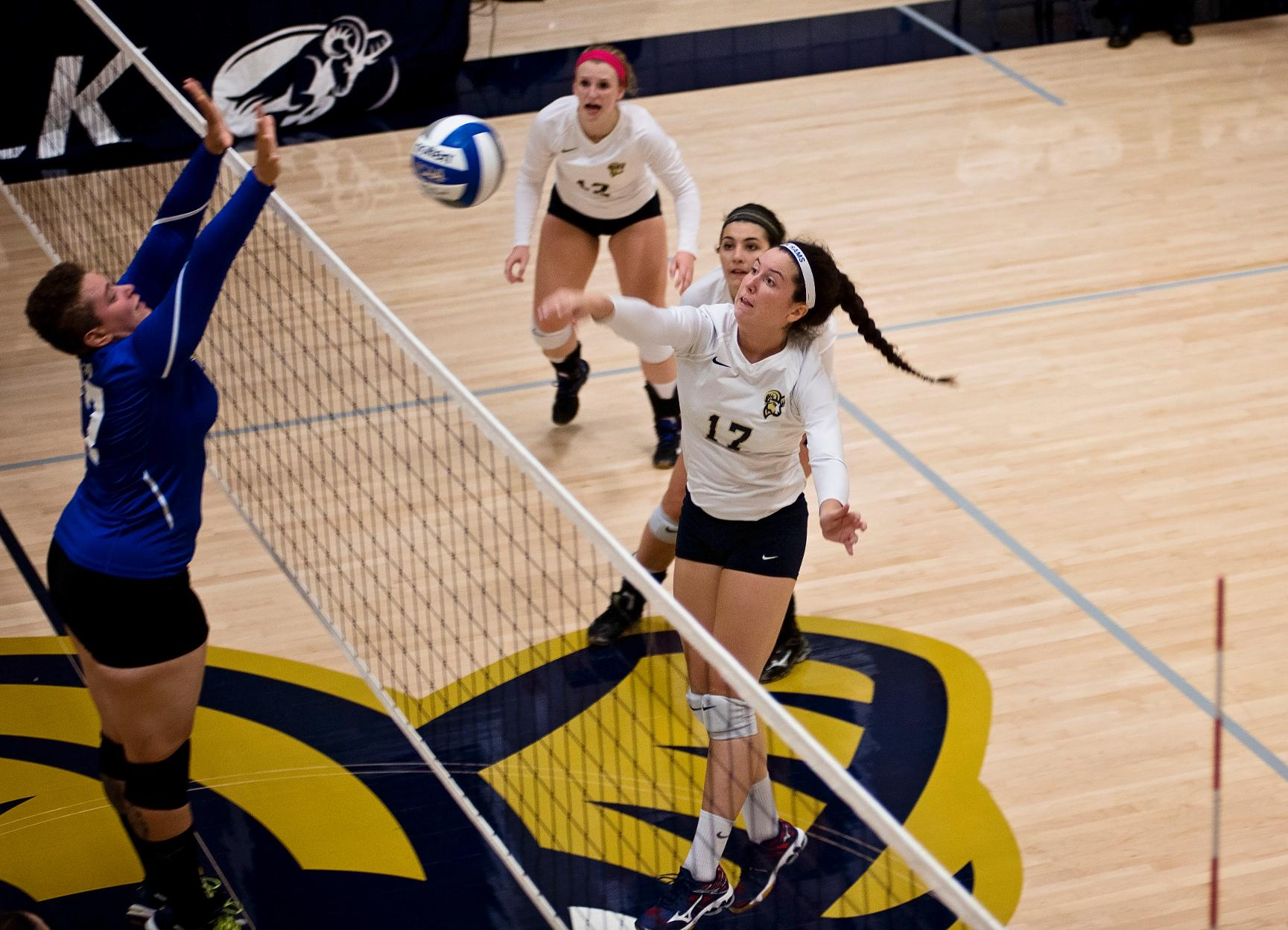 Volleyball Makes Cross City Trip for Tri-Match at Emmanuel Saturday