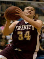 Danielle Hubenak, Trinity University, Women's Basketball