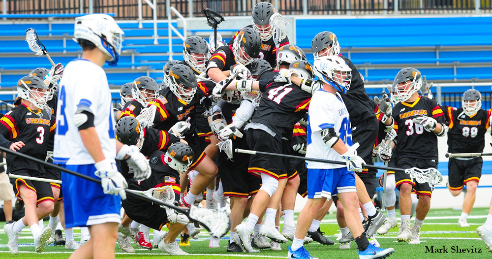 Mutz Dagger Lifts Men's Lax in OT Epic