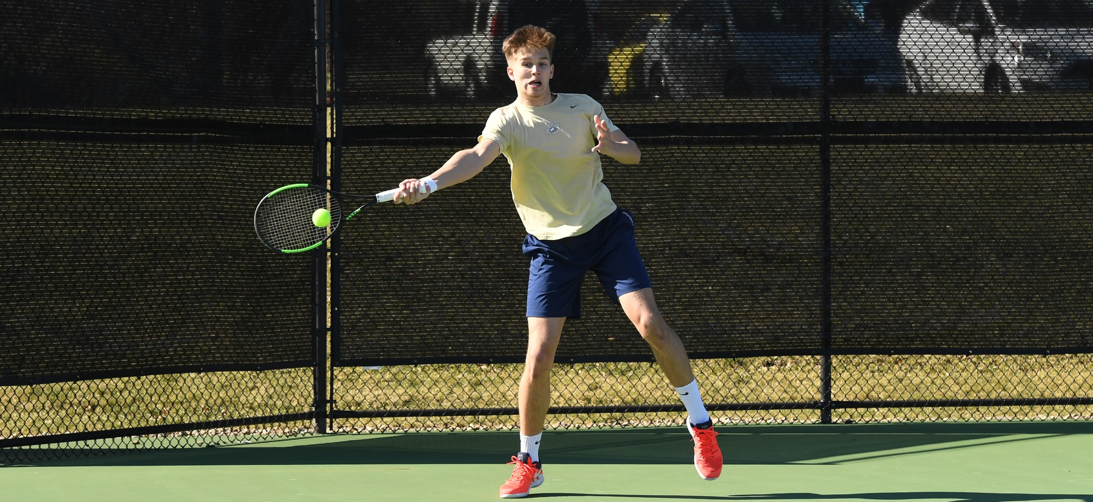 Men's Tennis Opens Spring Season with a Win Over Messiah