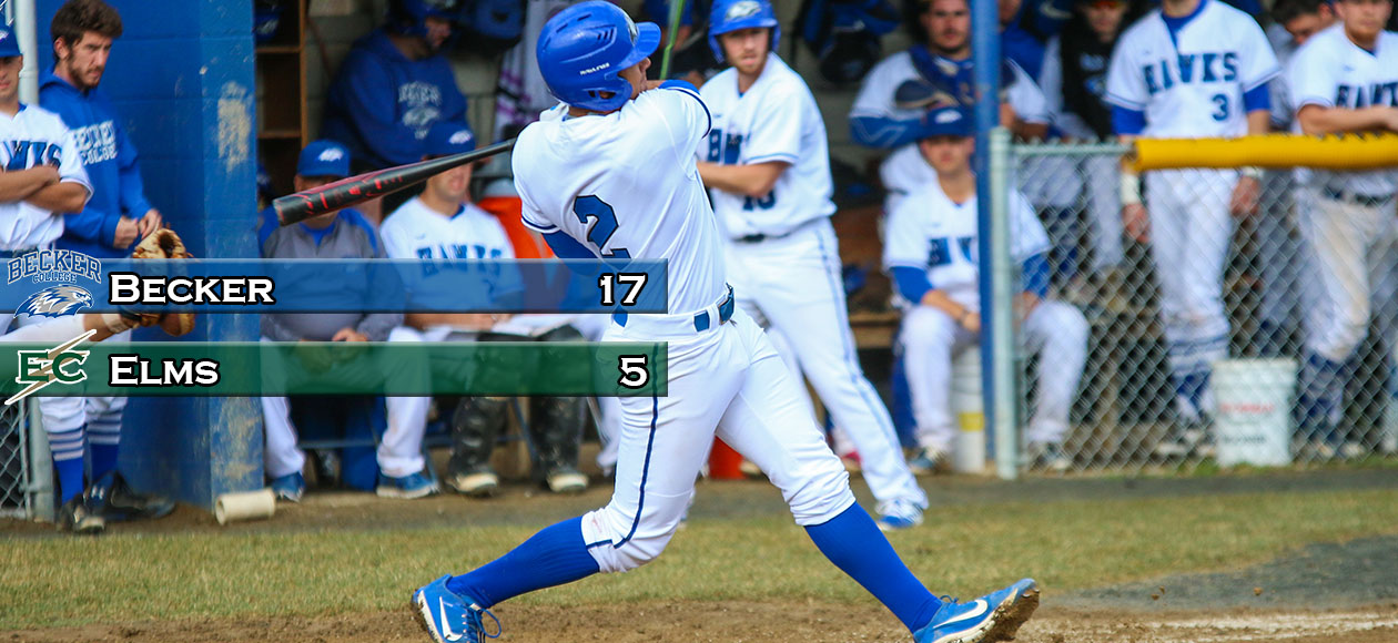 Baseball Takes Rubber Match From Elms To Win Series