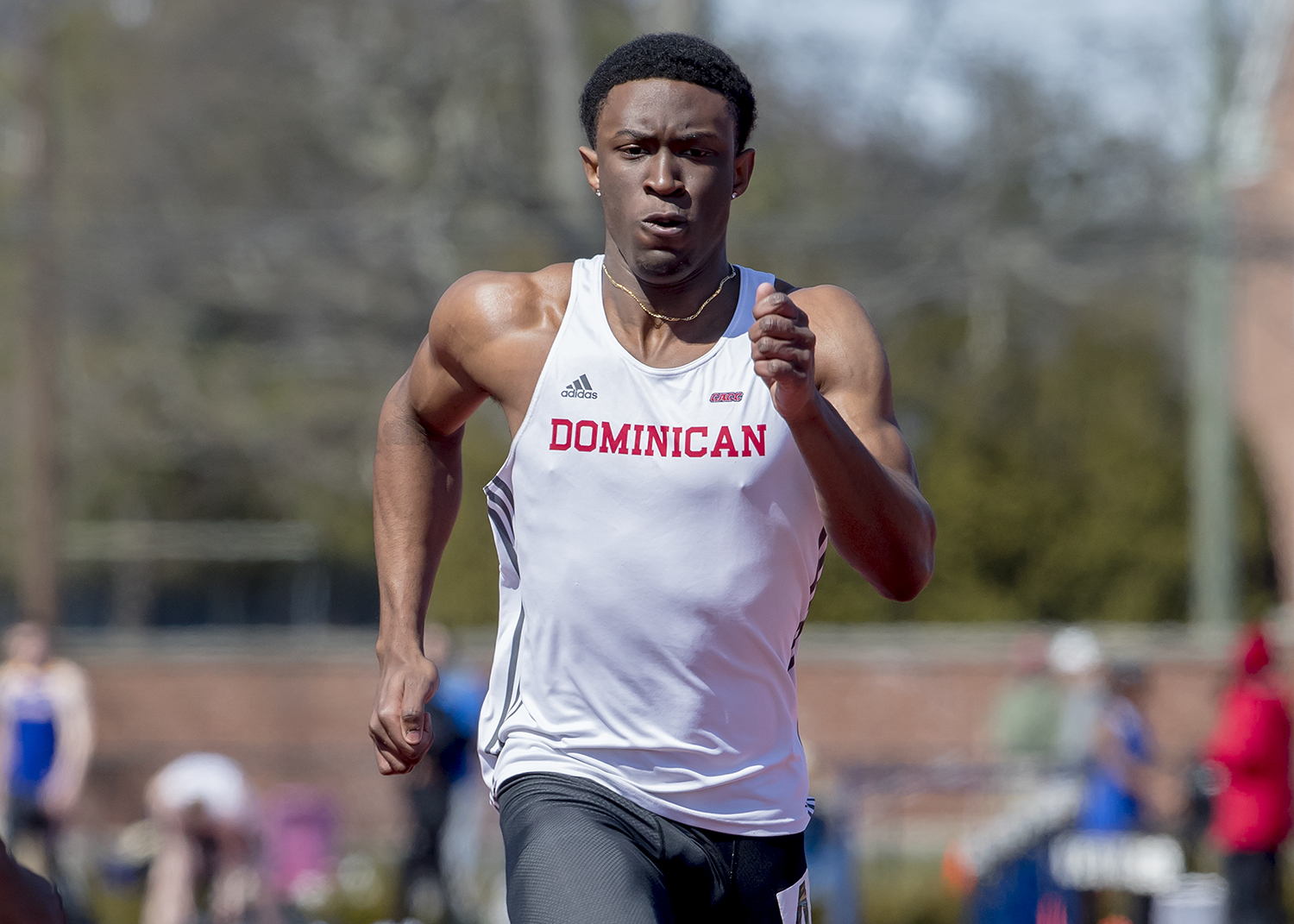 CHARGERS COMPETE AT QUEENSBOROUGH RELAYS