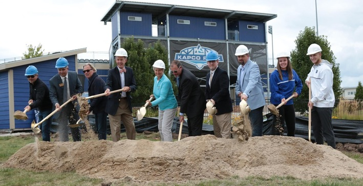 CUW breaks ground on Catalyst Sports Training Center