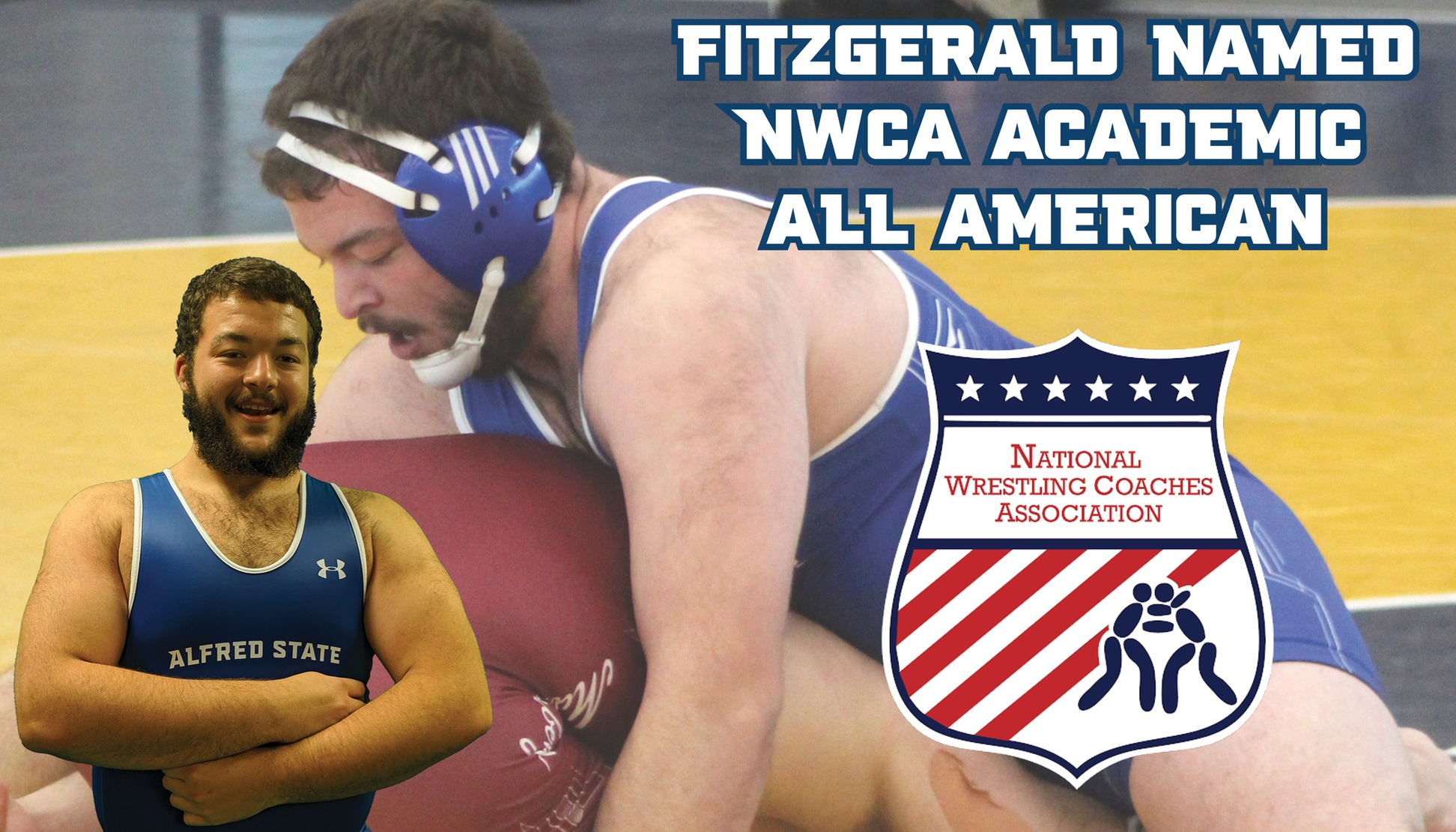 Kyle Fitzgerald named NWCA Academic All-American