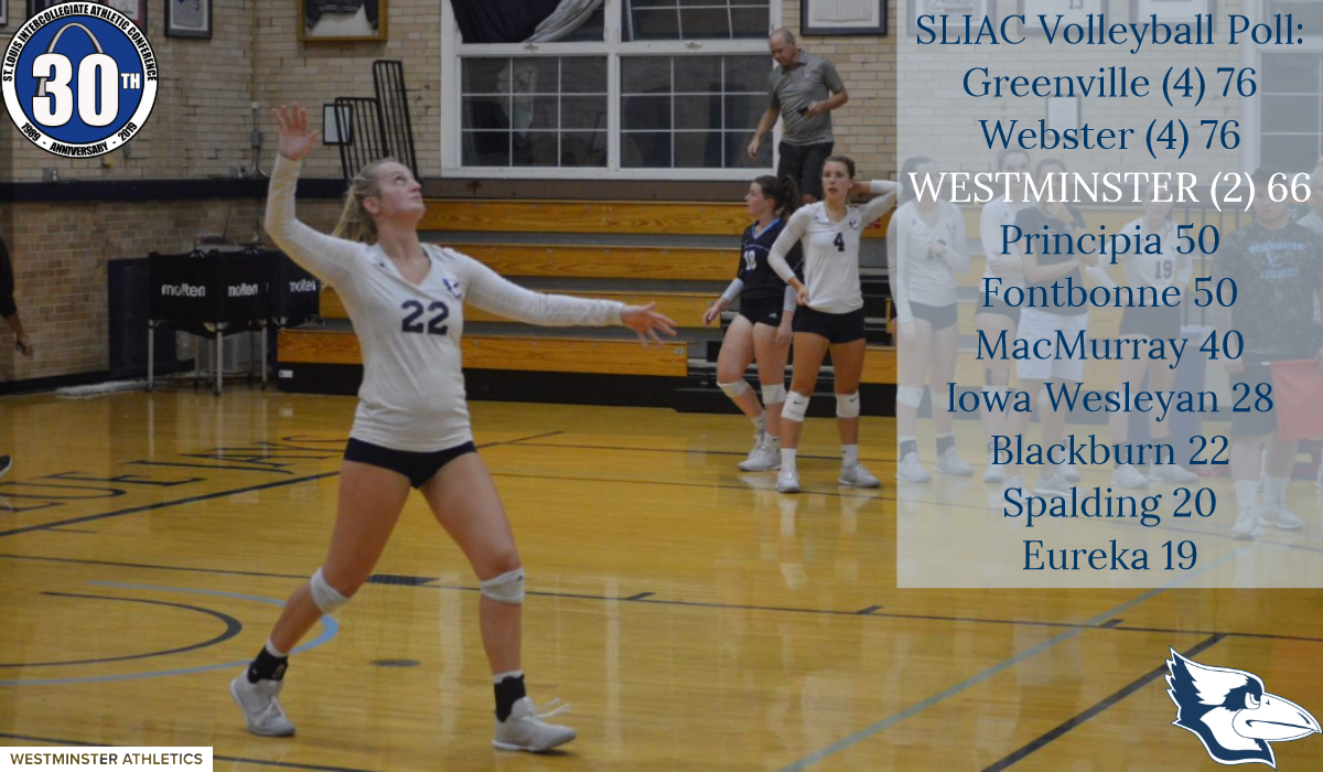 Women's Volleyball Selected to Finish Third in SLIAC