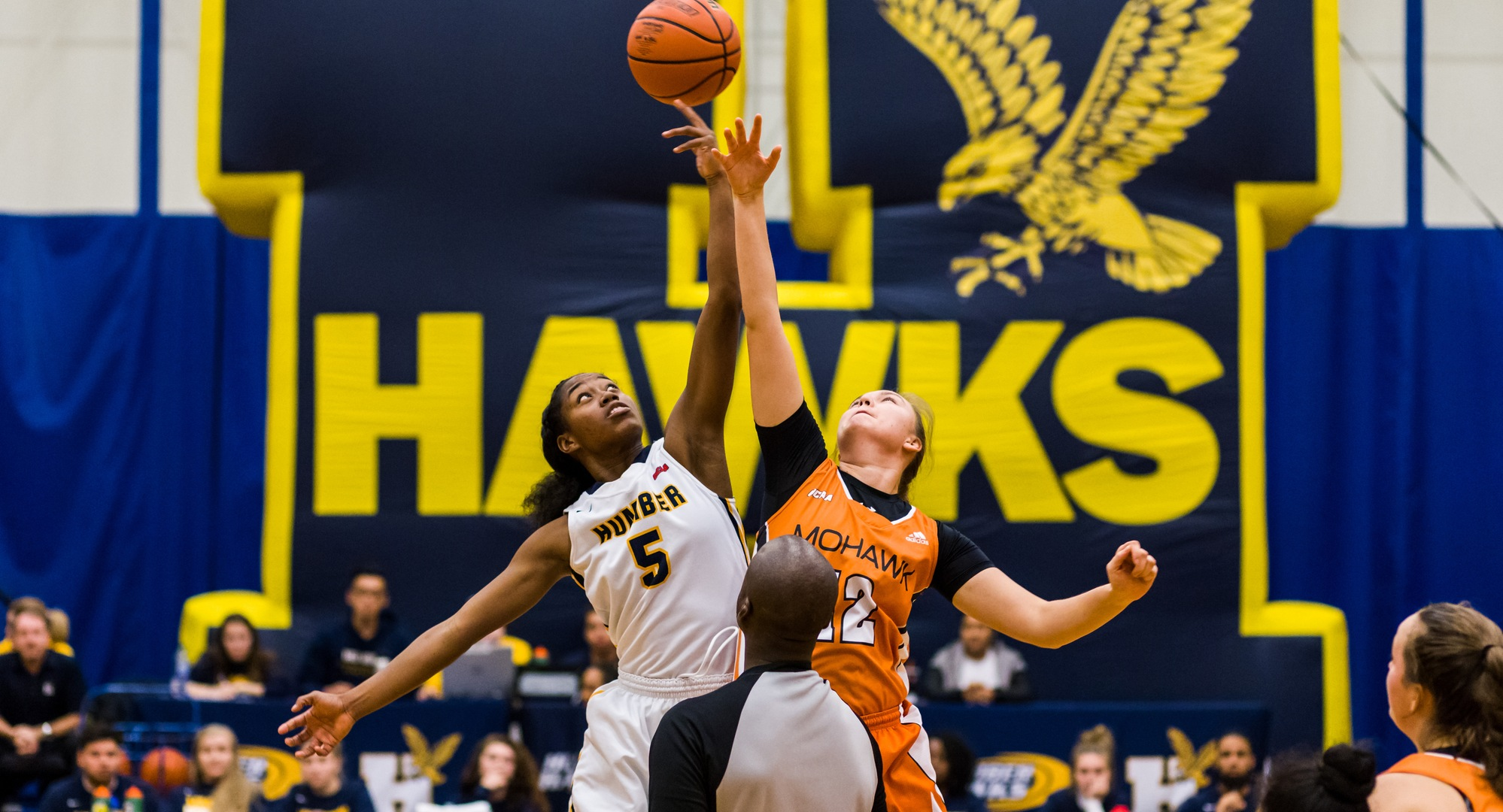 HAWKS ROLL TO 92-63 WIN OVER RIVAL MOHAWK AT HOME