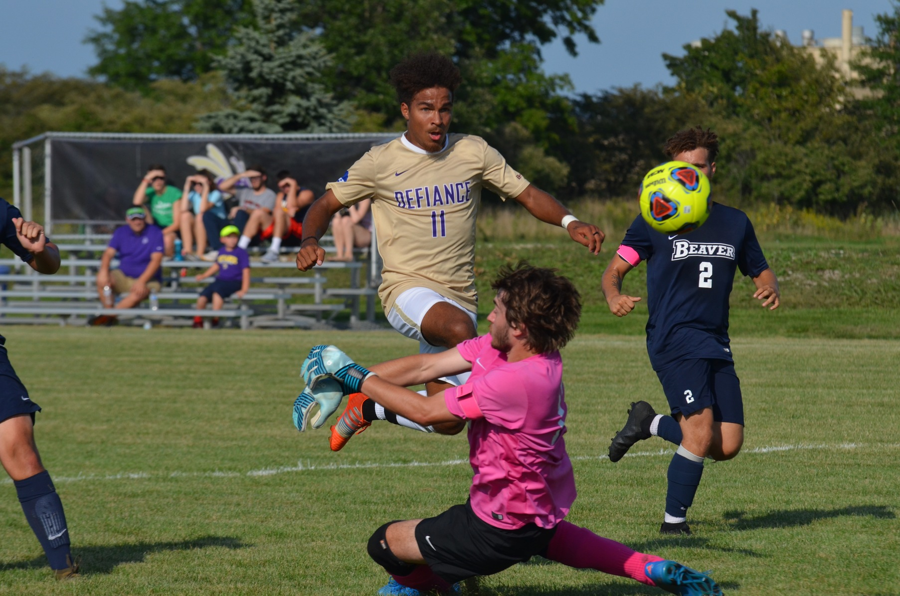 Offensive Display Leads Men's Soccer to Victory