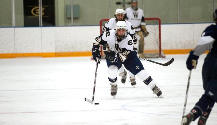 Men's Hockey Sweeps Concordia to Stay Undefeated