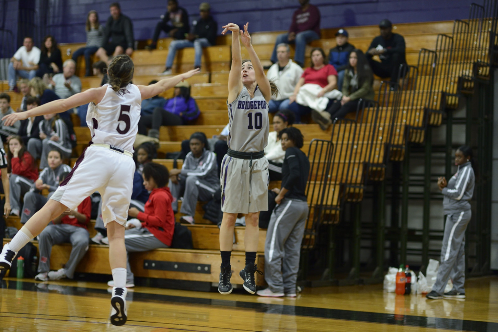 Purple Knights Pick Up Third Straight Women's Hoops Win With 63-48 Victory Over Dominican (N.Y.)