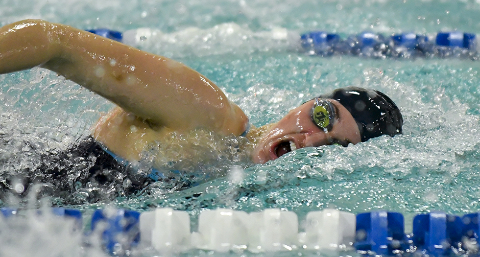 Swimming & Diving Sits 4th After Day 1 at Seven Sisters Meet