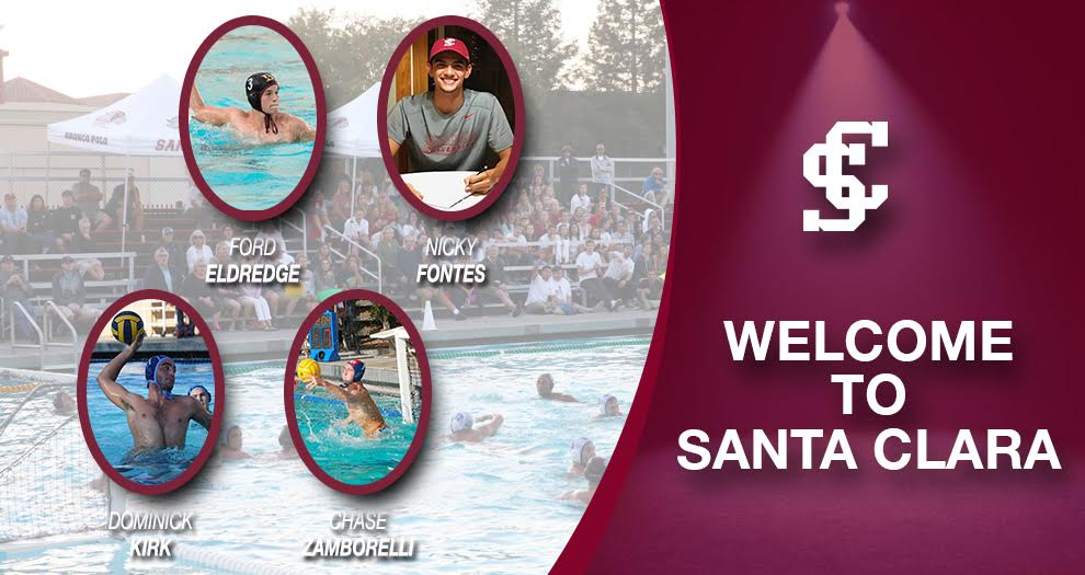 Men's Water Polo Signs Four Players