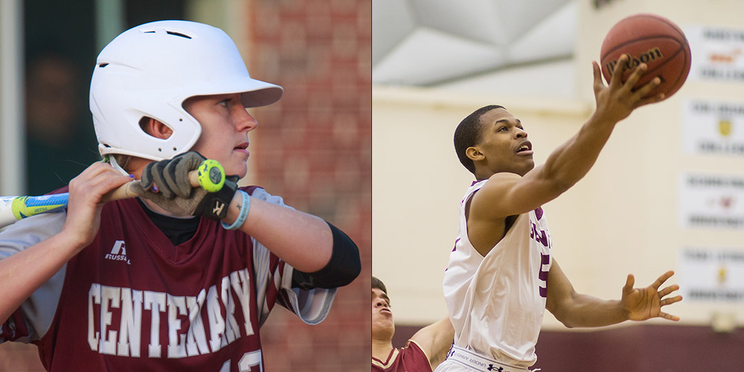 Ladies Softball's Dunn, Gents Basketball's Kirkendoll Named Centenary Male and Female Athlete of the Year