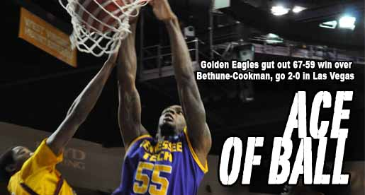 Golden Eagles leave Las Vegas with 67-59 win, upper bracket championship