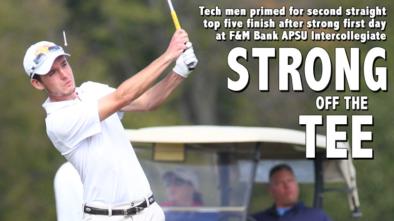 Tech men's golf team posts strong first day at F&M Bank APSU Intercollegiate