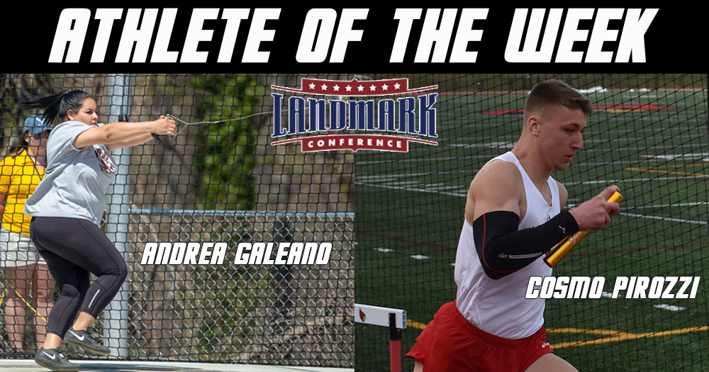 Two Cardinals Earn Athlete of the Week Honors