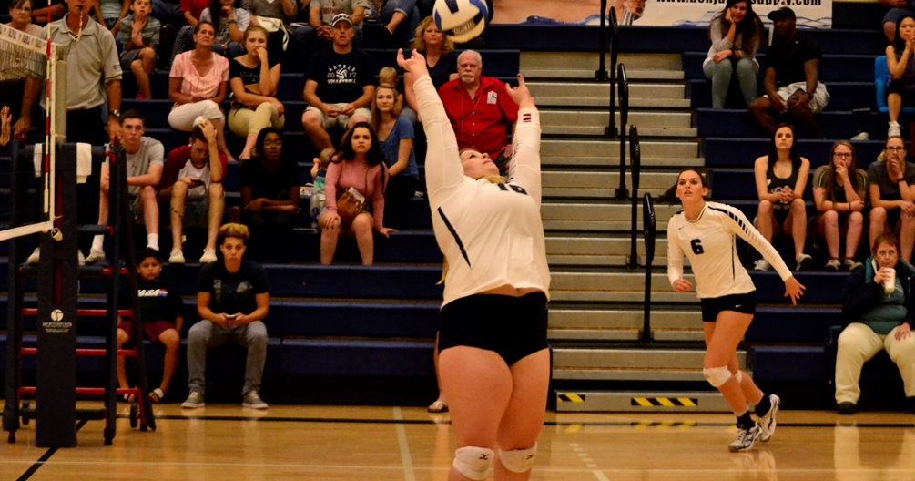 Gerard Has 19 Assists, Three Aces but Volleyball Falls Against Mesa