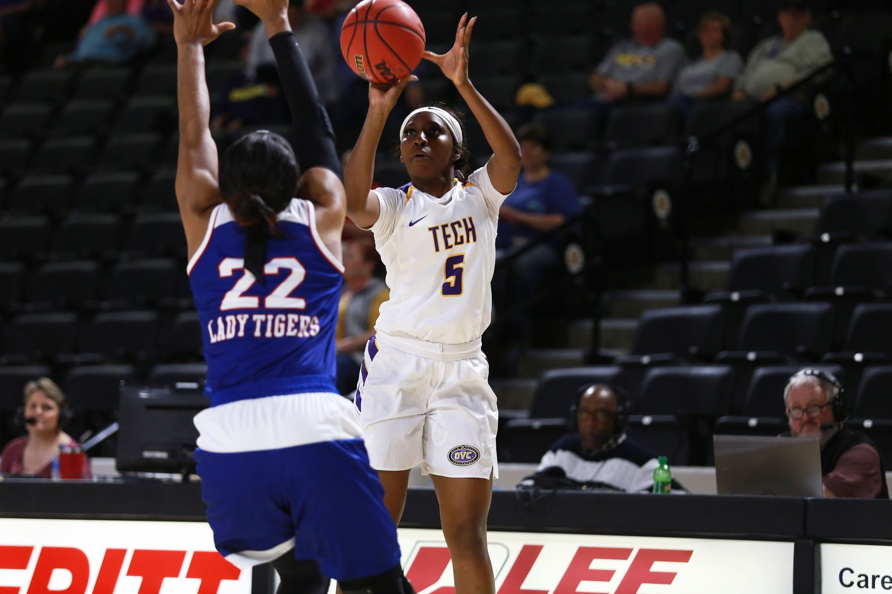 Tech picks up close win over Tennessee State