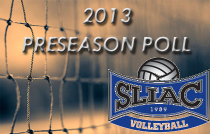 2013 SLIAC Volleyball Preseason Poll