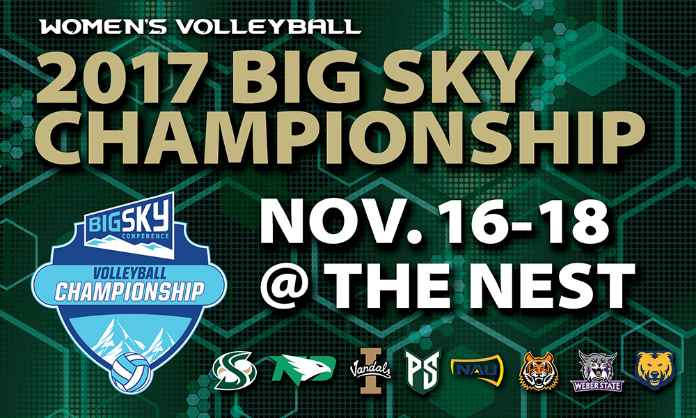 PARKING INFORMATION FOR THE BIG SKY VOLLEYBALL CHAMPIONSHIP