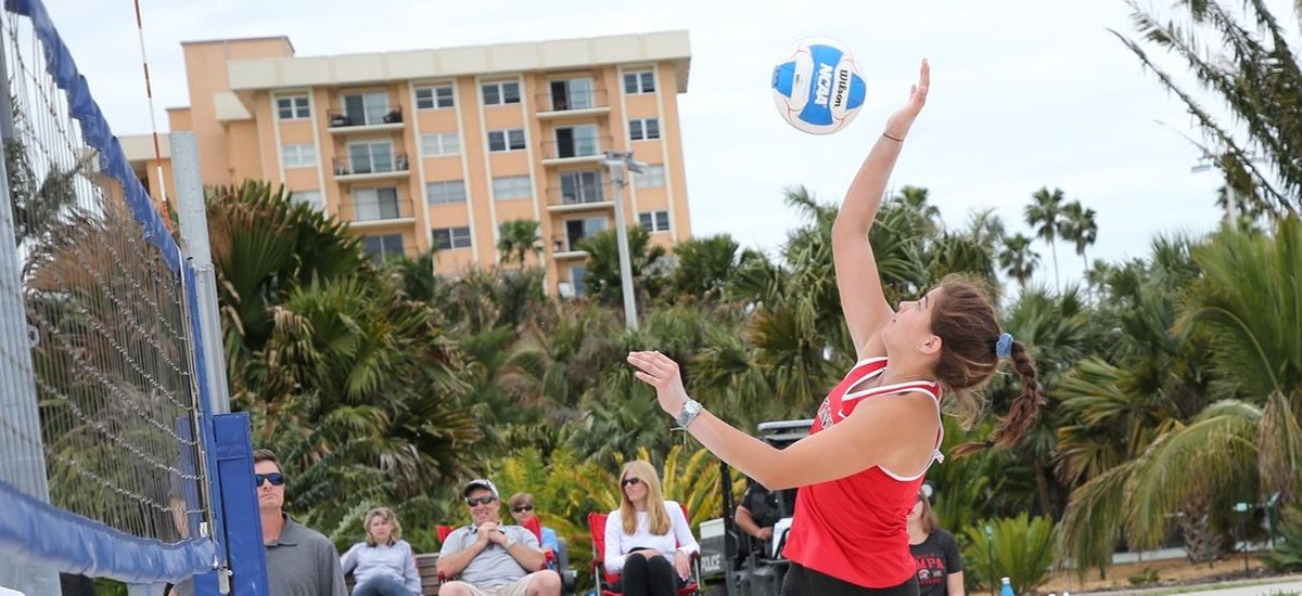 Spartans Remain Undefeated at the AVCA Small College Beach Championships