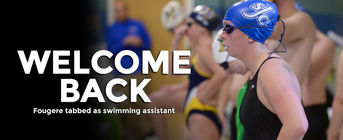 Alumna Fougere Tabbed as Assistant Swimming Coach