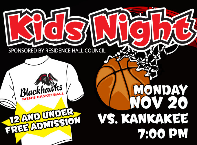Kids Night at SCC Men's Basketball Game