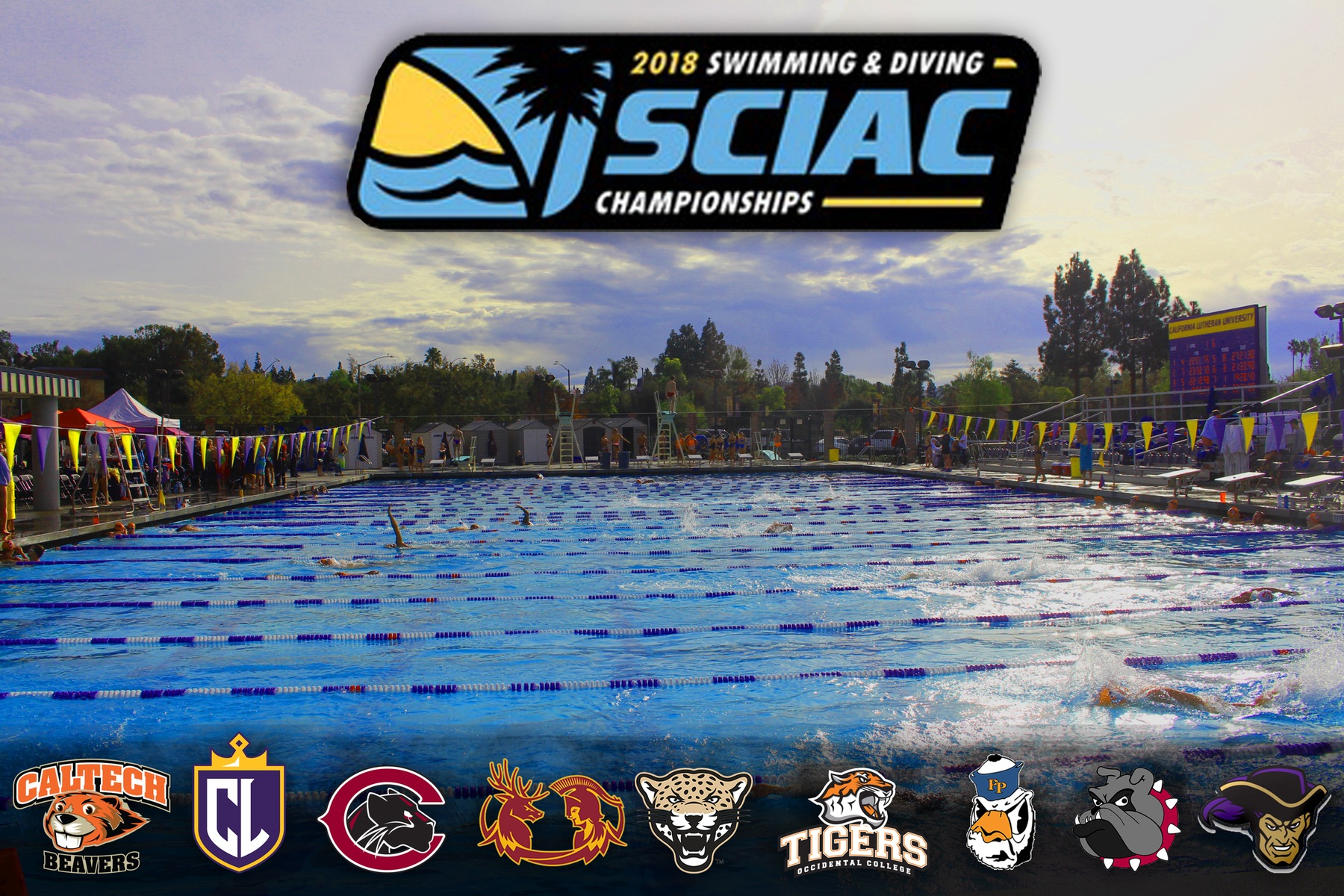 Swimming & Diving Compete at SCIAC Championships