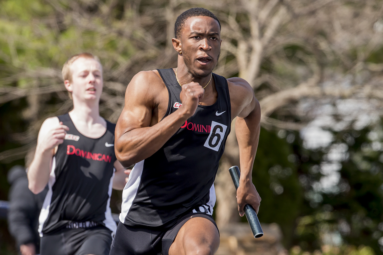 MEN'S TRACK AND FIELD COMPETE AT CACC CHAMPIONSHIPS