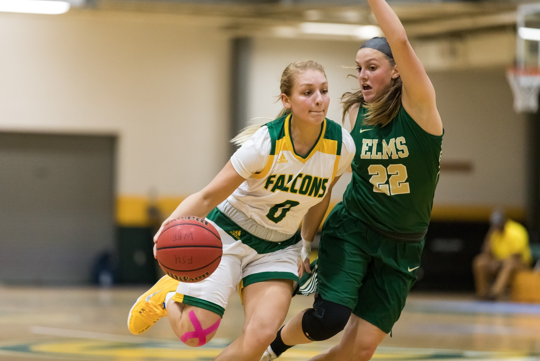 Falcons Withstand Trailblazers, 73-64