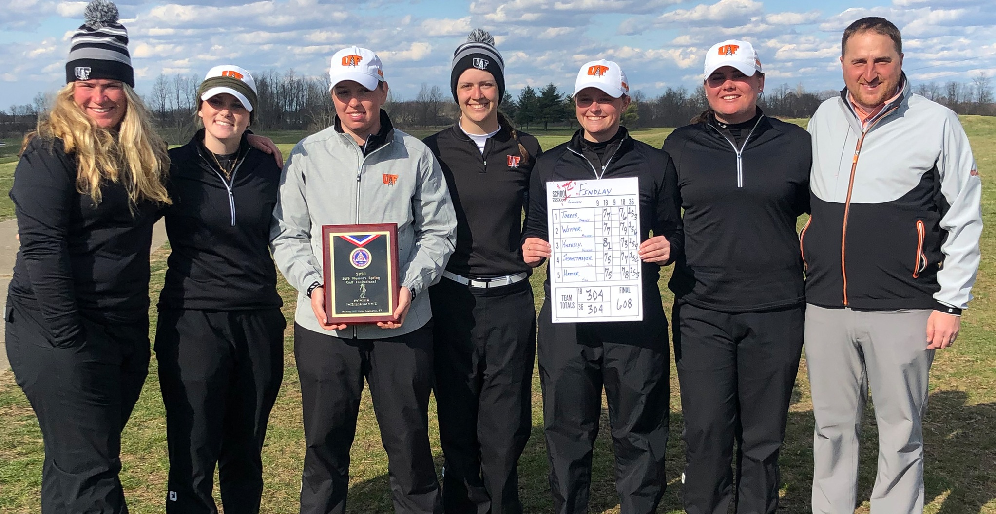 Oilers Win SVSU Invite