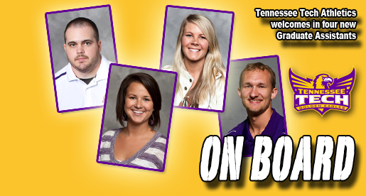 Tennessee Tech athletics staff welcomes four graduate assistants