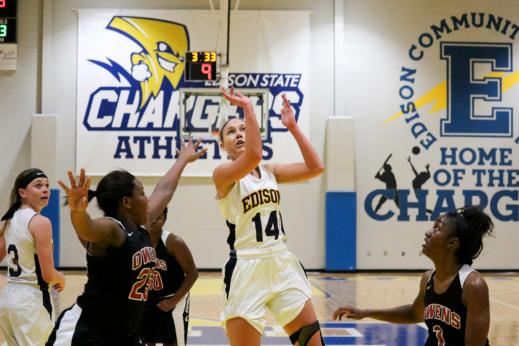 Lady Chargers Defeat OSU–Mansfield