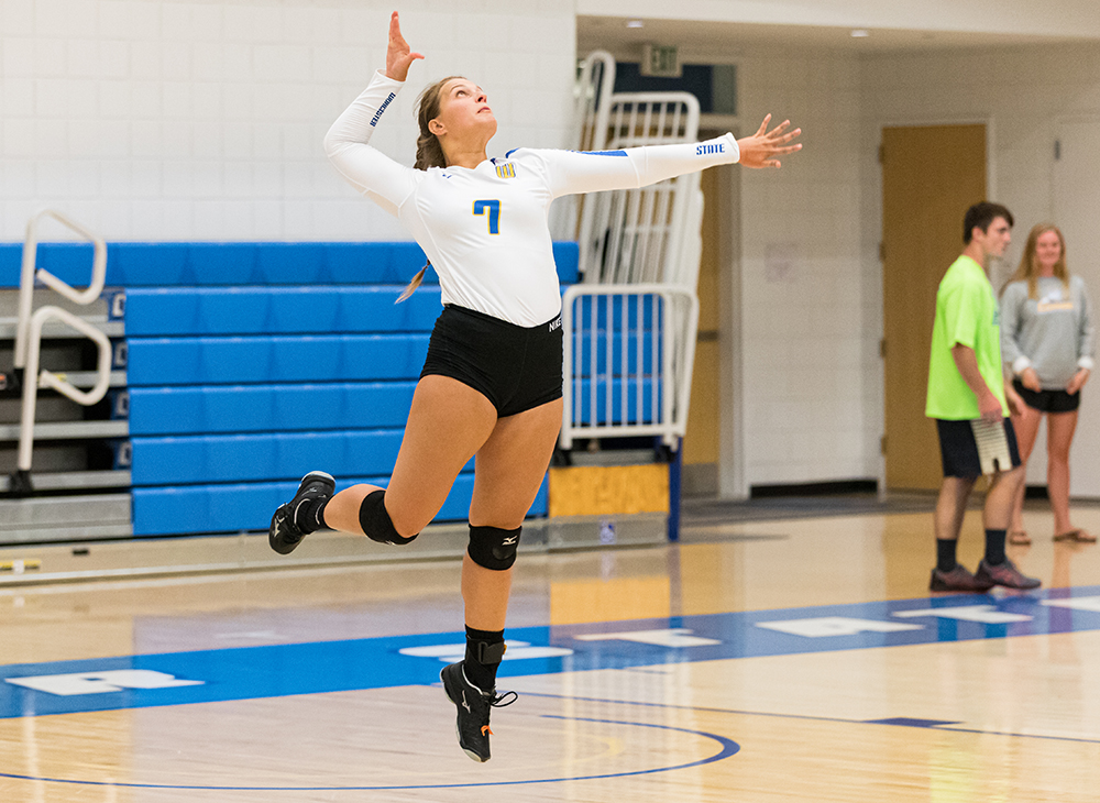 Women's Volleyball Swept in Home Tri-Match